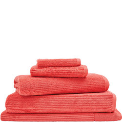 Living Textures Towels Coral