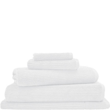 Living Textures Bath Mat White