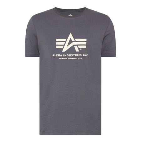 Basic Logo T-Shirt Grey