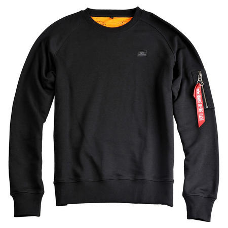 Logo Detail Sweatshirt Black