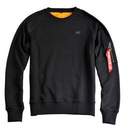 Logo Detail Sweatshirt Black