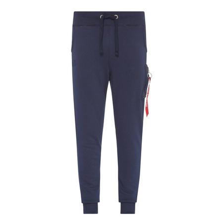 Cuffed Sweatpants Blue