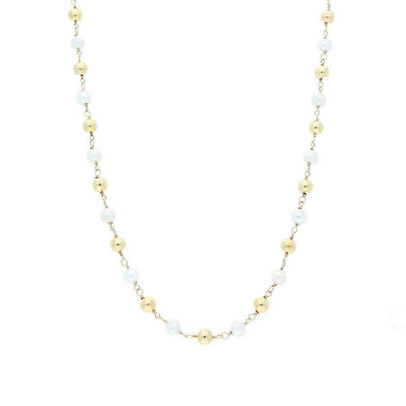 Pearl Necklet 9ct Gold