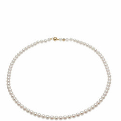 Akoya Pearl Necklace Gold