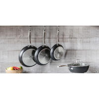 Rocktanium 5 Piece Saucepan Set Black