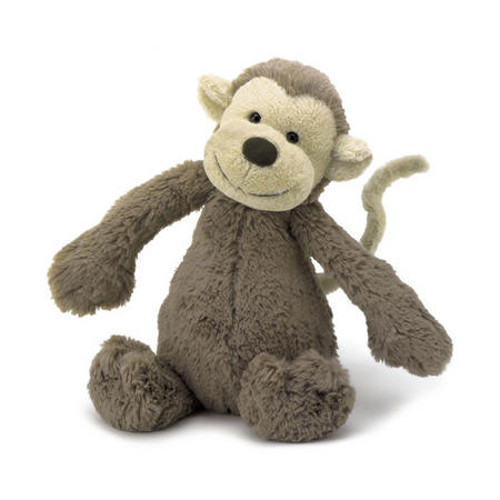 Bashful Monkey 31cm Brown