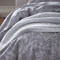 Cotton Soft Gainsborough Duvet Set Grey