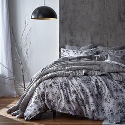 Cotton Soft Charlbury Duvet Set Grey
