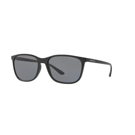 Polarised Square Sunglasses AR8084 Black