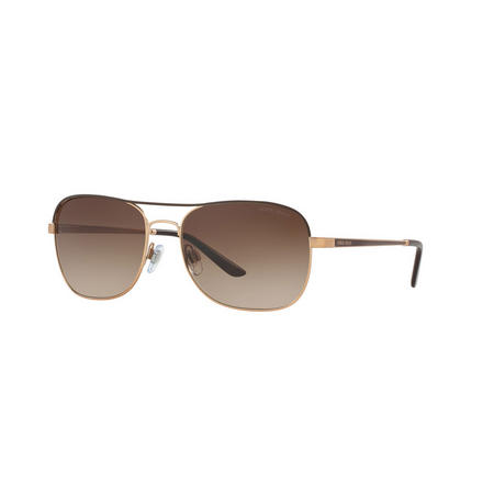 Square Sunglasses  Brown