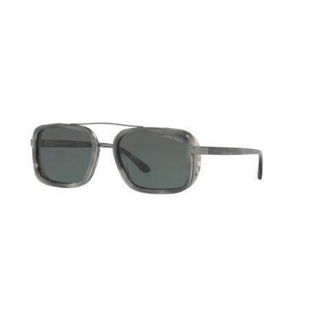Rectangle Sunglasses Grey