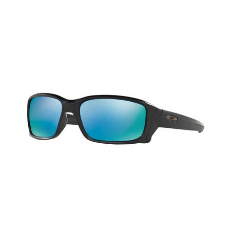 Straightlink Green Lens Sunglasses  Black