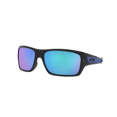 Turbine Blue Lens Sunglasses  Black