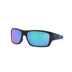 Turbine Blue Lens Sunglasses  Black