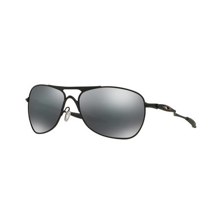 Crosshair Square Sunglasses  Black