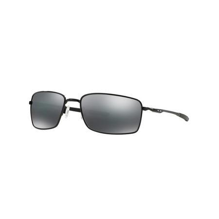 Square Wire Rectangle Sunglasses Black