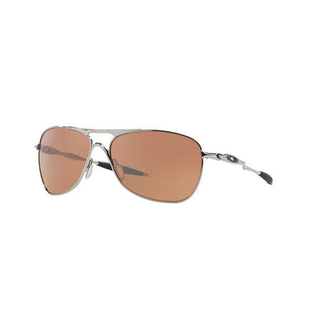 Crosshair Square Sunglasses Silver-Tone
