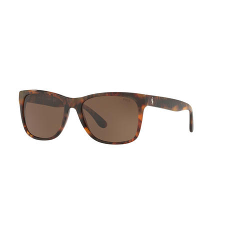 Havana Rectangle Sunglasses  Brown