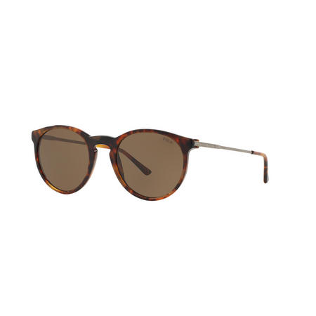 Havana Phantos Sunglasses  Gold-Tone
