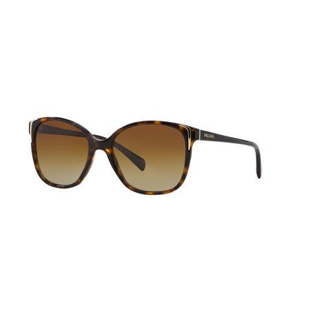 Havana Square Sunglasses PR 01OS  Brown
