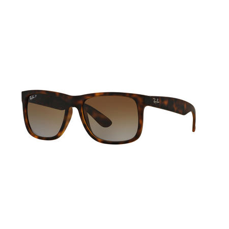 Havana Justin Rectangle Sunglasses Brown