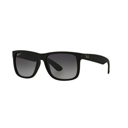 Justin Rectangle Dark Sunglasses Black