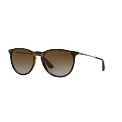 Havana Erika Pilot Plain Sunglasses Brown