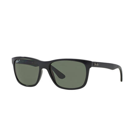 RB4181 Polarised Square Sunglasses Black