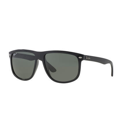 RB4147 Polarised Square Sunglasses Black