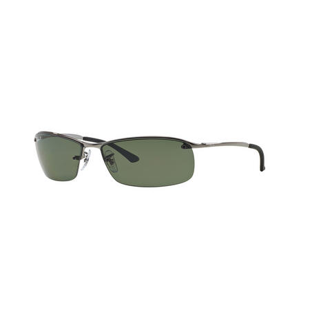 Rectangle Polarised Sunglasses Grey