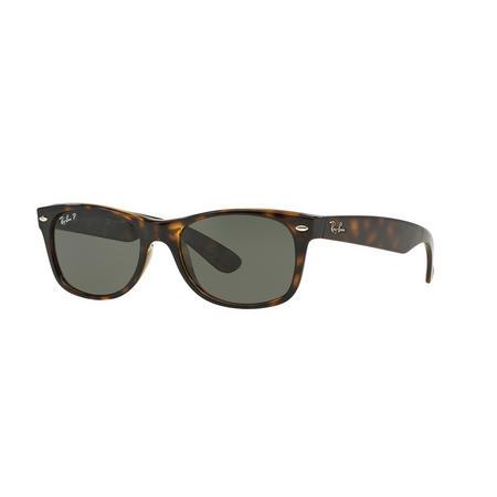 Havana New Wayfarer Square Sunglasses Brown