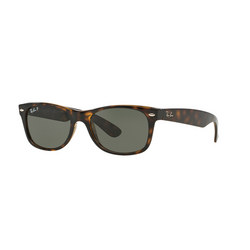 Havana New Wayfarer Square Sunglasses Brown
