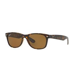 Havana New Wayfarer Brown Lens Sunglasses  Brown