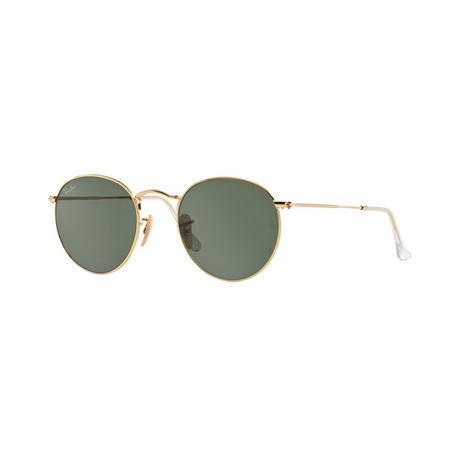 Round Metal Phantos Sunglasses Gold-Tone
