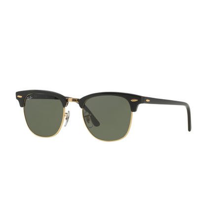 Clubmaster Square Sunglasses RB3016 Black