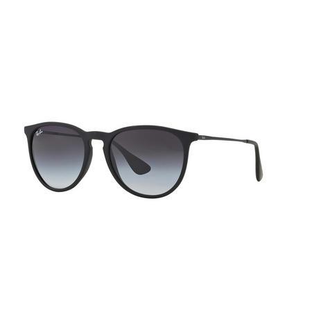 Havana Erika Pilot Sunglasses  Black