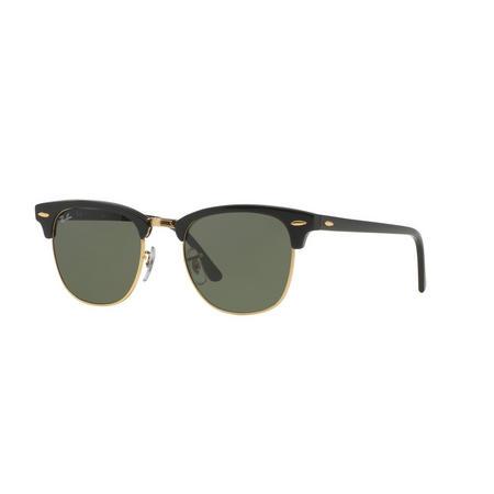 Clubmaster Square Sunglasses  Black