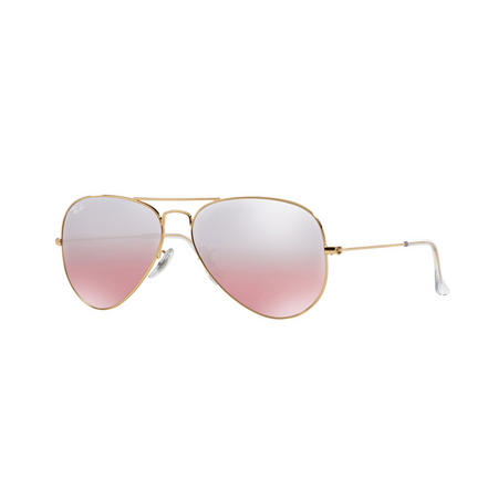 Aviator Large Metal Pilot Sunglasses  Gold-Tone