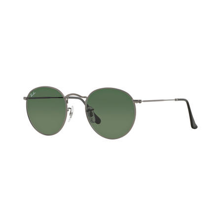 Round Metal Phantos Sunglasses Grey