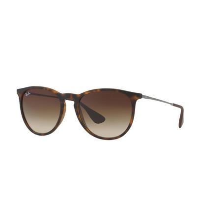 Havana Erika Pilot Patterned Sunglasses  Brown