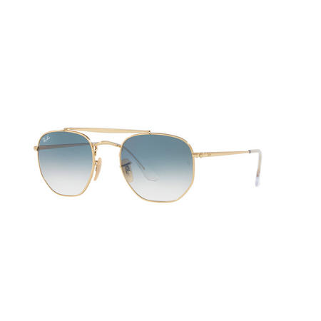 Square Sunglasses Gold-Tone