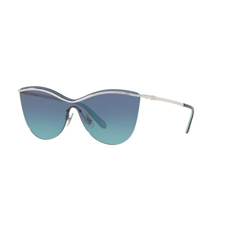 Butterfly Sunglasses  Silver-Tone