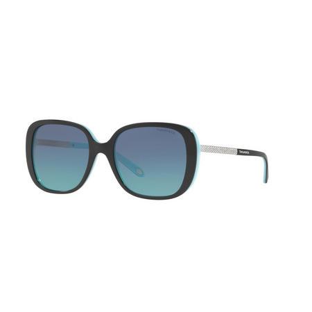 TF4137B Square Sunglasses Black