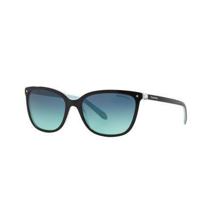 TF4105HB Square Sunglasses Black