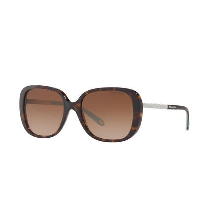 Havana Square Sunglasses TF4137B Brown