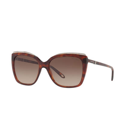 Havana Square Sunglasses TF4135B Brown
