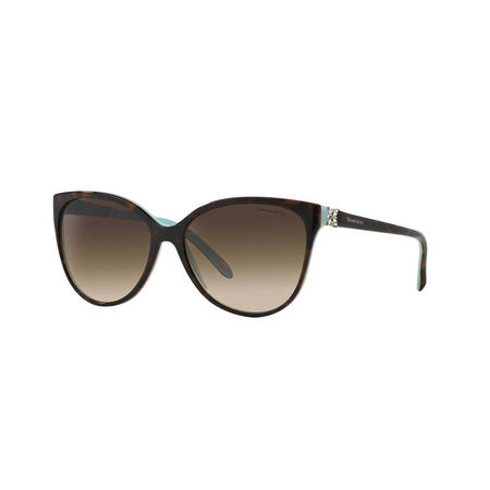 Havana Cat Eye Sunglasses  Brown