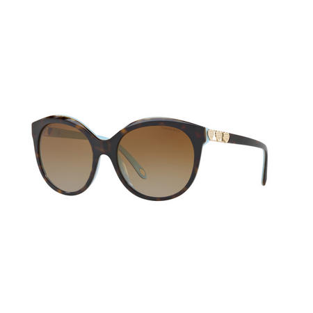 Havana Round Sunglasses Brown