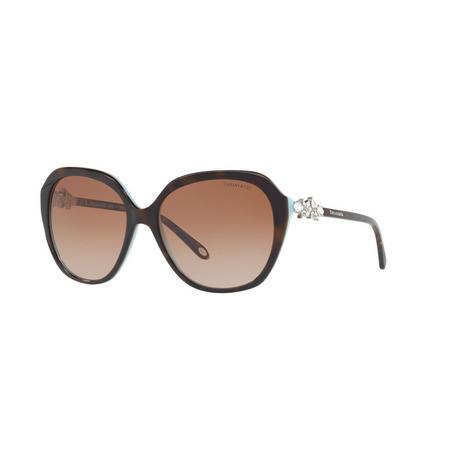Havana Square Sunglasses TF4132HB Brown
