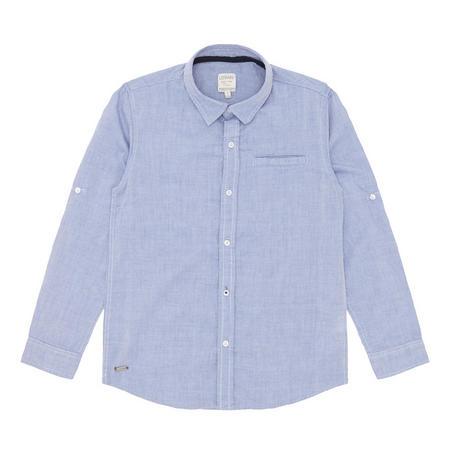 Boys Oxford Shirt Blue